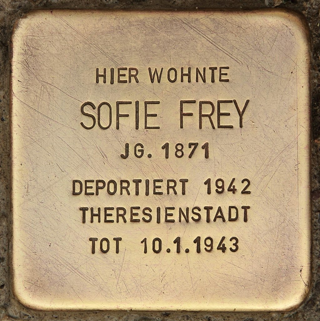 Stolperstein für Sofie Frey (Reichenbach).jpg