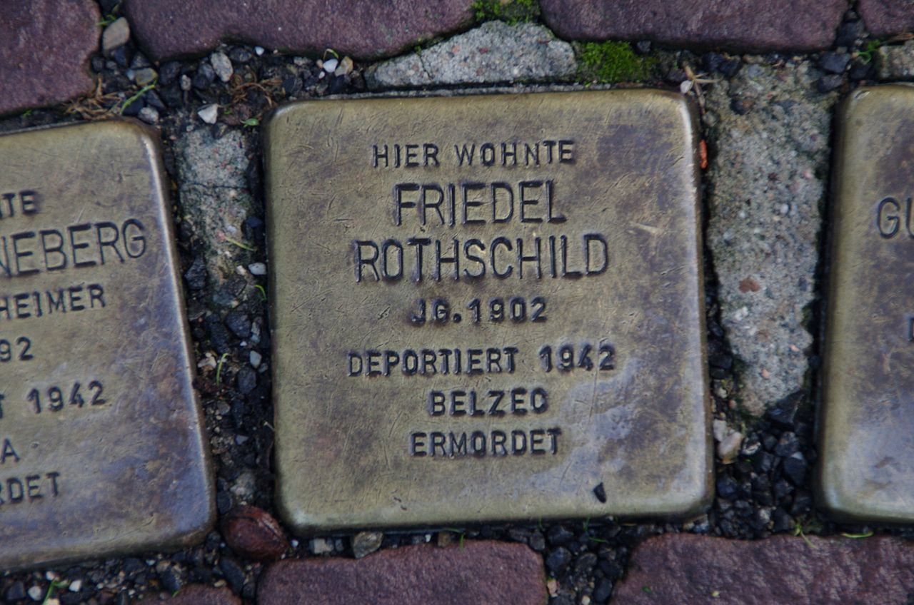 Stolpersteine Friedel Rothschild Bad Wildungen.jpg
