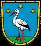 Das Wappen von Storkow (Mark)
