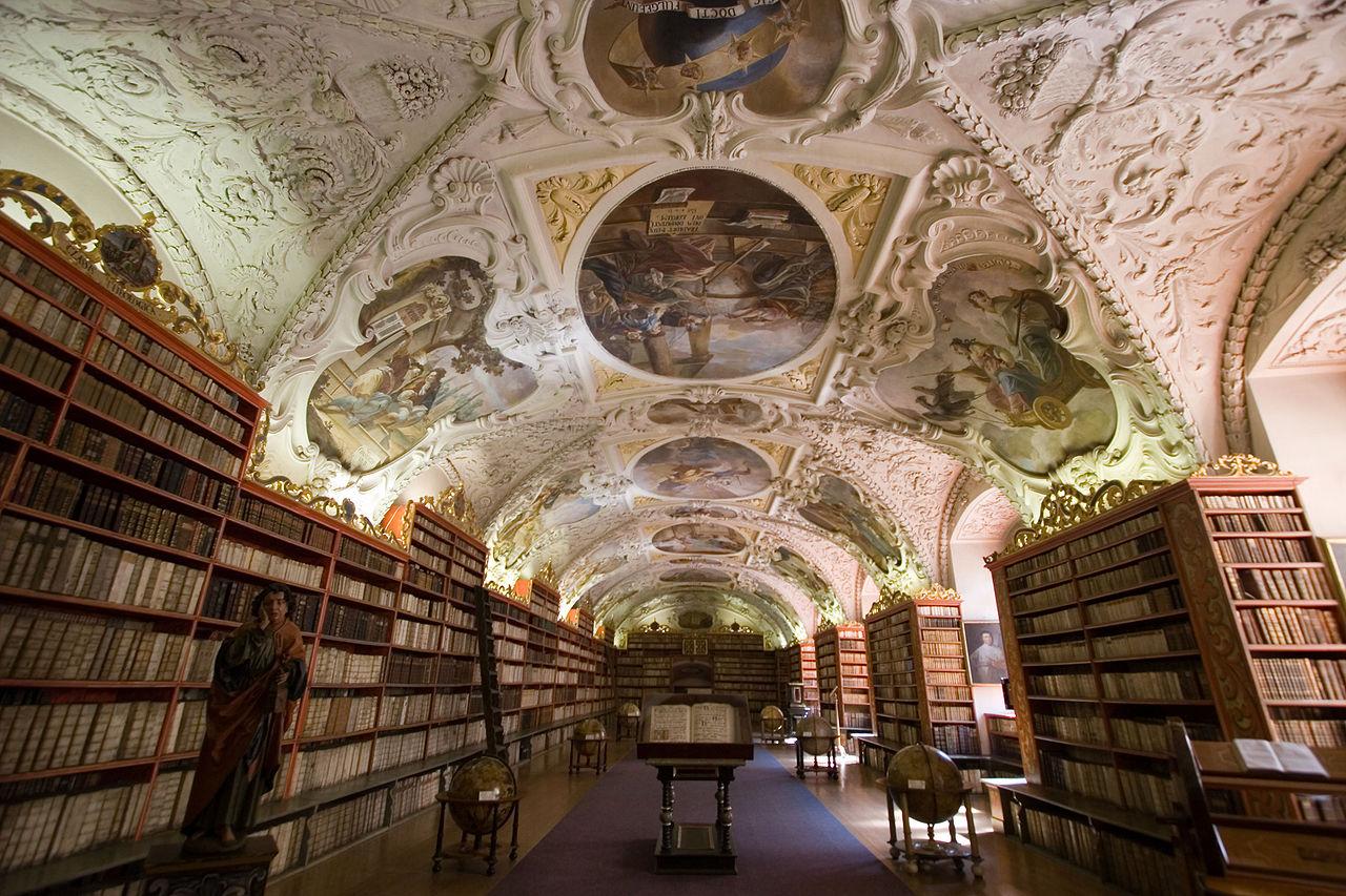 Praga. Klasztor na Strahowie
