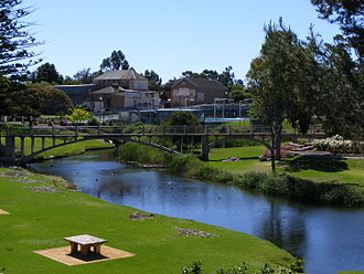 River Angas - Angas River in Strathalbyn