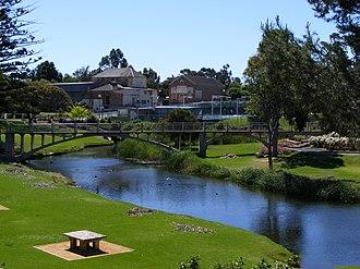 Strathalbyn, South Australia - River Angas in Strathalbyn