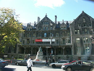 Donald Smith, 1st Baron Strathcona and Mount Royal - Strathcona Music Building on Sherbrooke Street, Montreal. Originally known as Royal Victoria College and built in 1884 by Strathcona for the higher education of women.