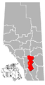 Strathmore, Alberta Location.png