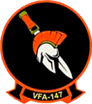 Strike Fighter Squadron 147 (US Navy) insignia 2015.png