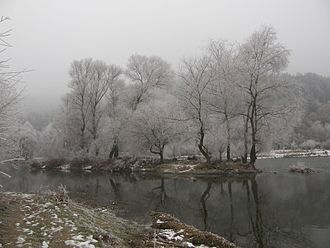 Struma (river) - Image: Struma Winter