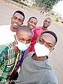 Student of the University of Nigeria, Enugu Campus after Sunday Mass.jpg