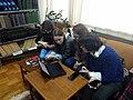 Students in Pritsak Memorial Library 2019.jpg