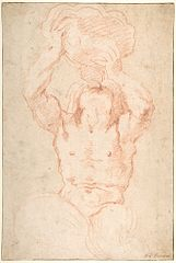Study for a Triton (drawing)
