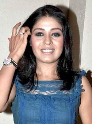 Sunidhi Chauhan - Chauhan at Michael Learns to Rock concert, 2010