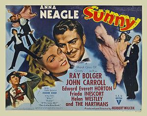 Sunny (1941 film) - Image: Sunny (1941 film) poster 1