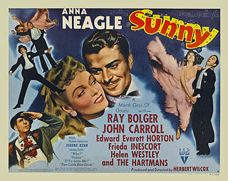 <i>Sunny</i> (1941 film) 1941 film by Herbert Wilcox