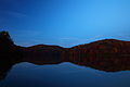 Sunset-summit-lake-wv-fall-foliage-reflections - West Virginia - ForestWander.jpg