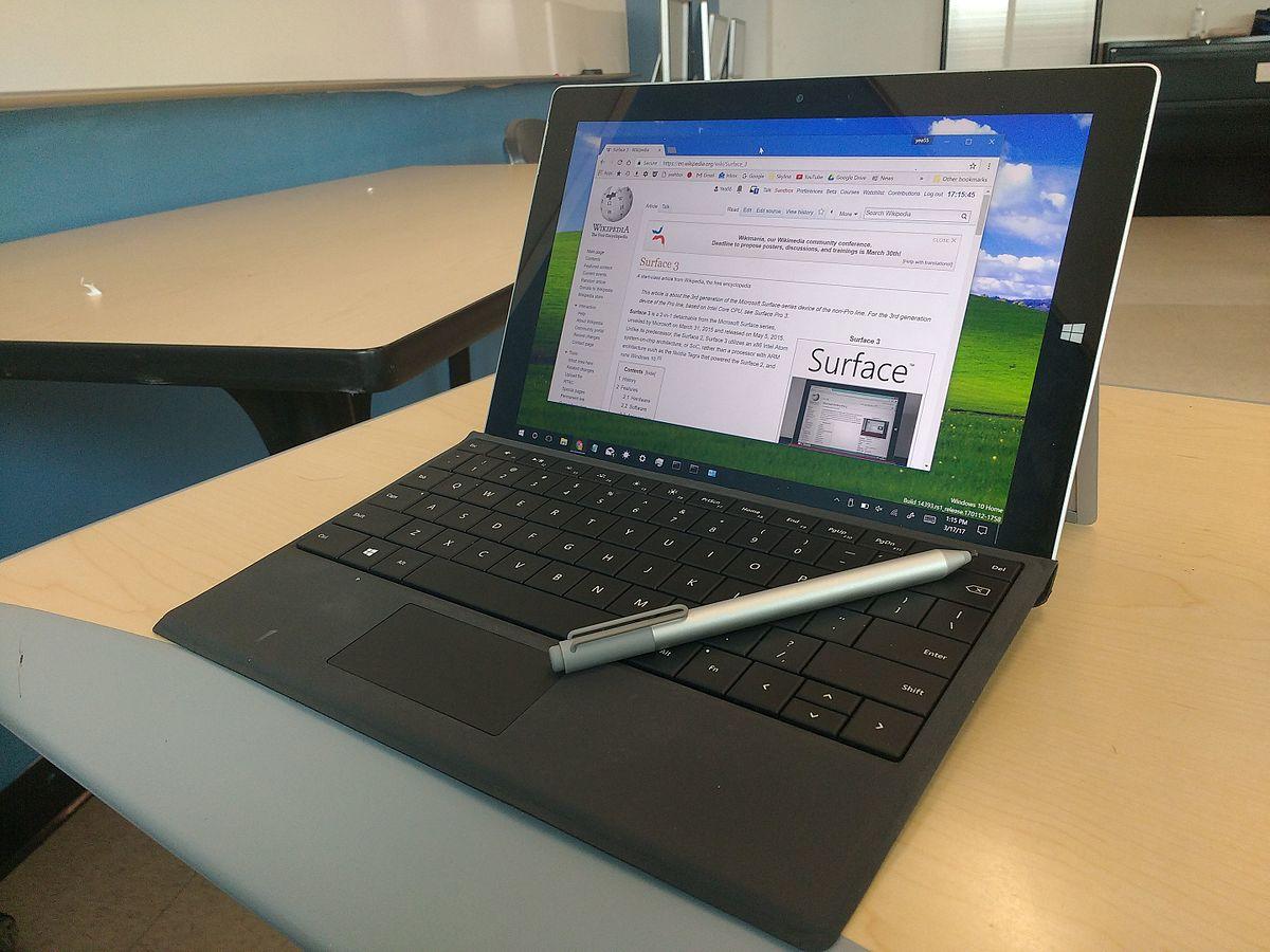 Surface 3 Wikipedia