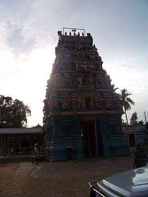 Pallikondeswara Temple, Surutapalli - Image: Suruttupalli 1