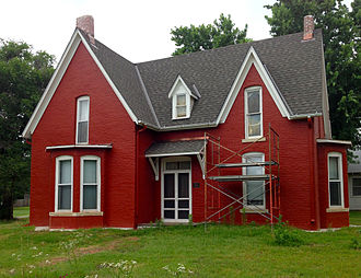 Argonia, Kansas - Home of Susanna M. Salter, first female mayor in the United States