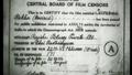 Suvarna Rekha film certificate.png
