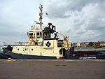 Svitzer Nerthus, IMO 9533048 in Fredericia harbor, pic1.JPG