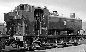 GWR 9400 Class - Newly built 8432 in 1953.