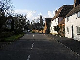 Swineshead, Bedfordshire - Image: Swineshead highstreet