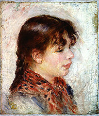 Head of a young neapolitan girl