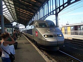Gare de Narbonne - Image: TGV Gare de Narbonne