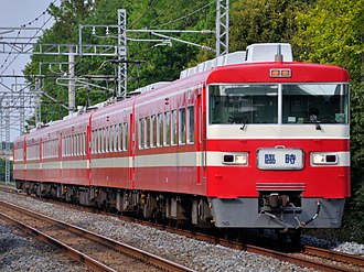 Tobu 1800 series - Set 1819 on a seasonal Rapid service in May 2013