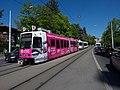 """TPG Tram Düwag-Vevey Be-4-6 822 """" Université de Genève"""" N°2 (26761140221).jpg"""