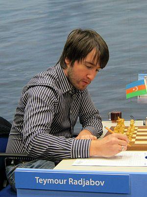 Teimour Radjabov - Teimour Radjabov in 2012