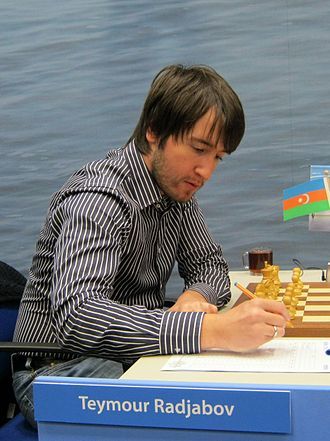 Teimour Radjabov - Radjabov playing in 2012