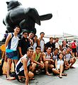 TYN Dragonboat members by the Singapore River - 20071104.jpg
