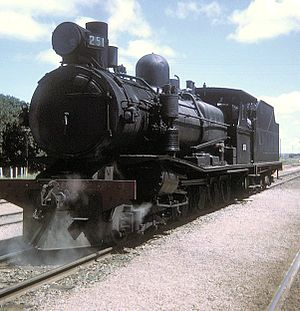 4-8-0 - South Australian Railways T class