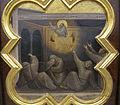 Taddeo gaddi, storie di cristo e di s. francesco (armadio di s. croce), 1335-40 ca. 19 carro di fuoco 2.JPG