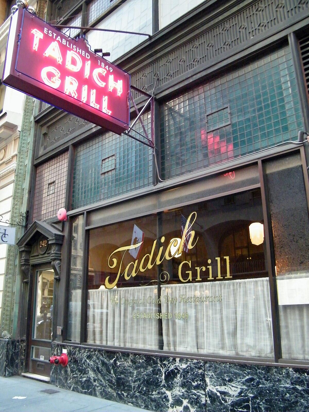 Tadich Grill Wikipedia
