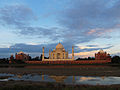 Taj Mahal at sunset.jpg