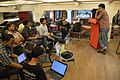 Tanmay Bir - Outreach Programme Discussion - Bengali Wikipedia Meetup - Kolkata 2015-10-11 6014.JPG