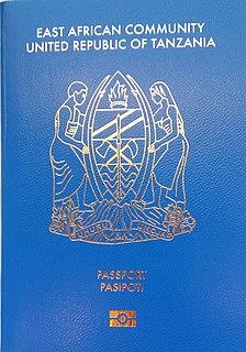 Tanzanian passport