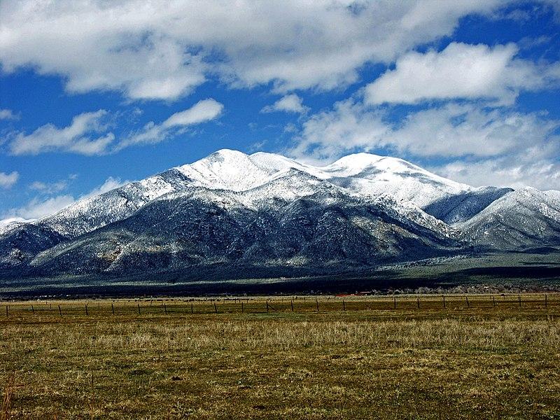 File:Taos Mtn. from El Prado.jpg