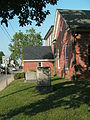Tappahannock Historic District - Beale Memorial Baptist Church grounds.jpg