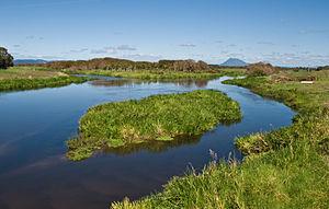 Tarawera River - Tarawera River on the Rangitaiki Plains