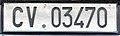 Targa automobilistica Città del Vaticano 1988 CV.03470 residenti.jpg