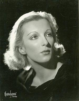 Tatiana Riabouchinska - Tatiana Riabouchinska, c. 1938    Photographer Maurice Seymour
