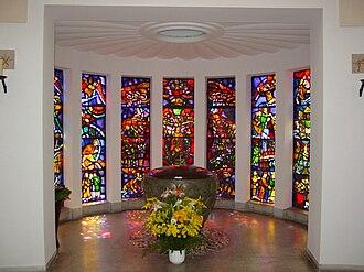 Liesing - Baptismal Chapel in the Roman Catholic parish church of Liesing.
