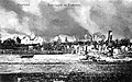 Tauragė in flames during WWI.jpg