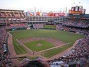 Rangers Ballpark in Arlington, home of the TexasRangers
