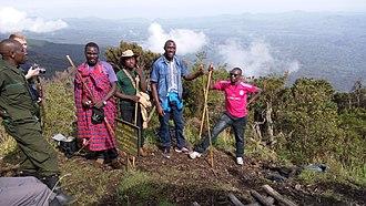 Mount Muhabura - Hiking on mount Muhabura