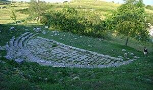 Juvanum - Roman theatro of Juvanum