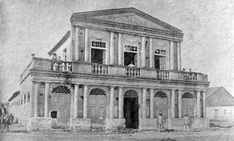 Icó - The theatre in 1900