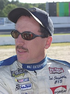 Ted Christopher NASCAR Modified driver