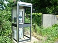 Telephone Box, Dunton Green - geograph.org.uk - 1306167.jpg